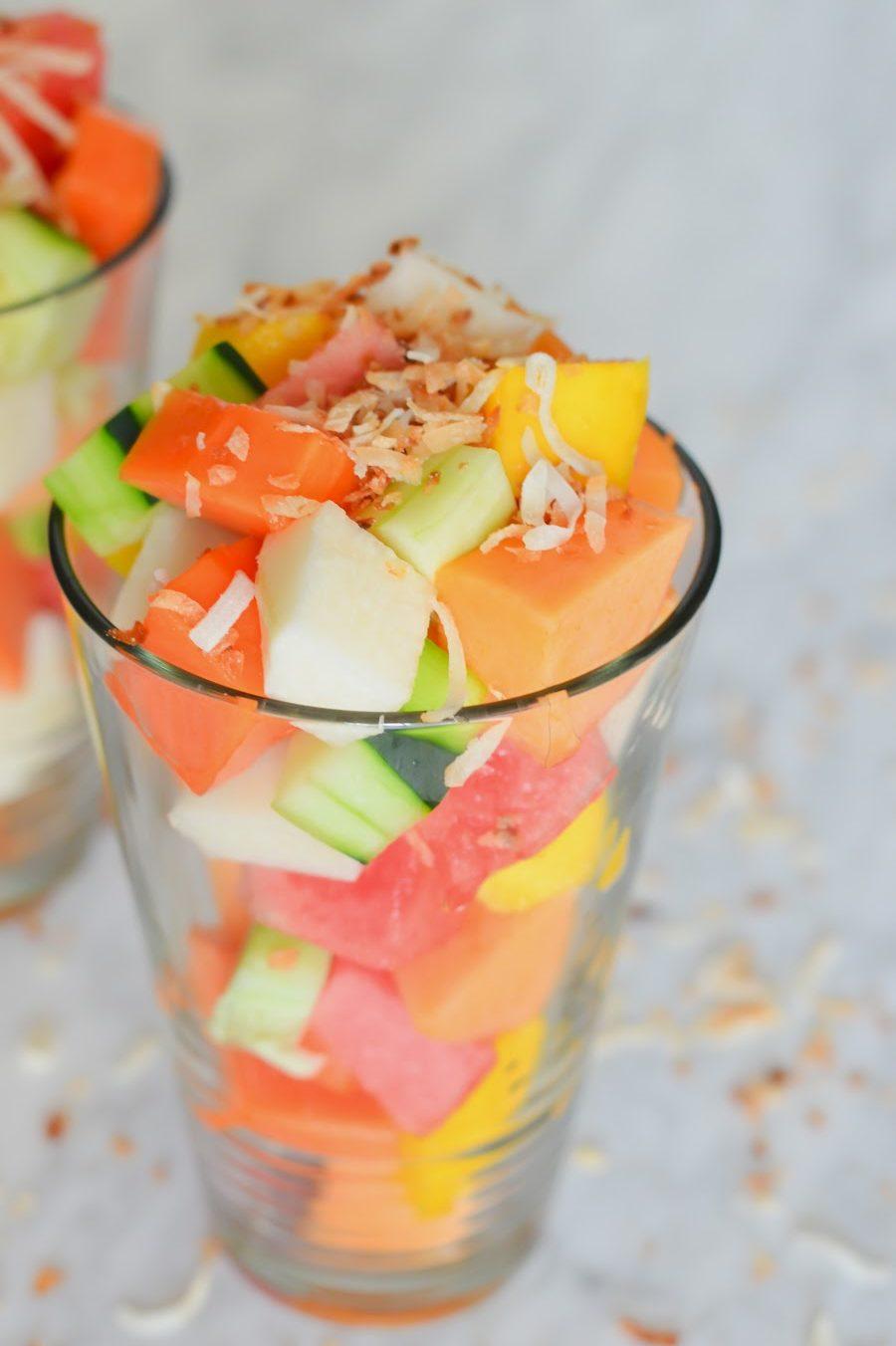 LA Fruit Cart Salad