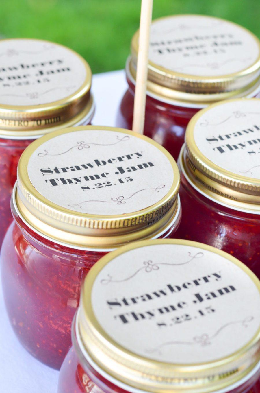 Strawberry Thyme Jam Recipe   Summer Produce Recipes