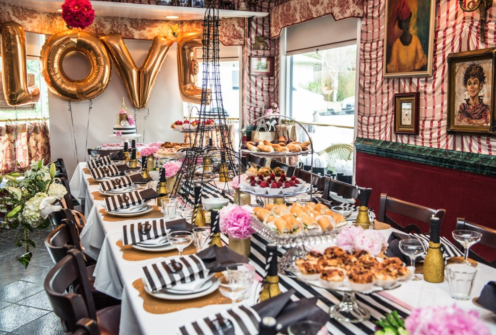 French Themed Bridal Shower In West Hollywood Luci S Morsels