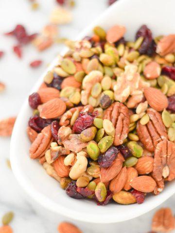 Trader Joe's Omega Trail Mix Recipe - Healthy, Vegan Snack