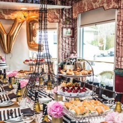Kitchen Themed Bridal Shower American Standard Faucet Repair French-themed In West Hollywood | Luci's Morsels