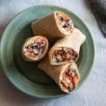 Grilled Veggie Hummus Wrap