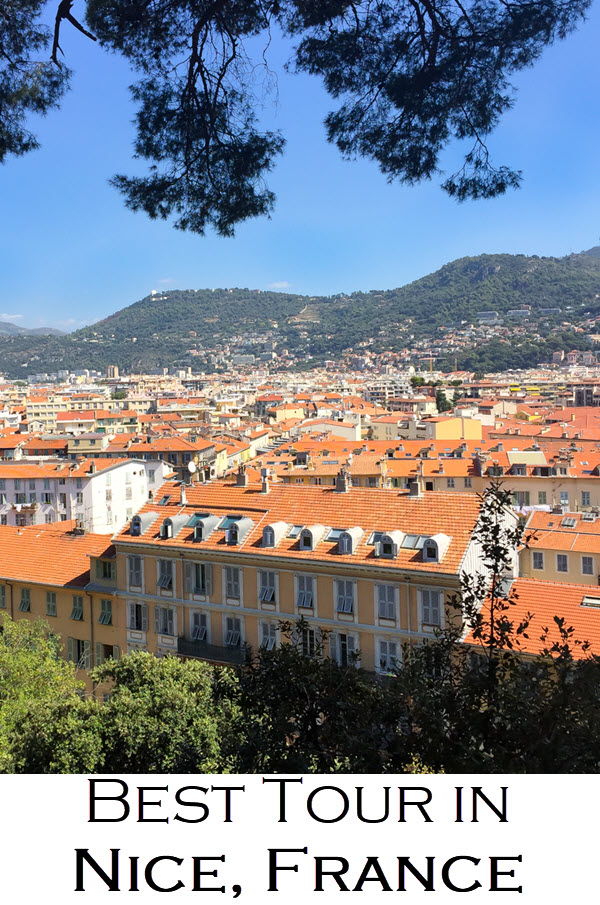 Best Tour in Nice, France. See the Mediterranean and bike up to the hilltop and cemetery of the quintessential Southern France city!