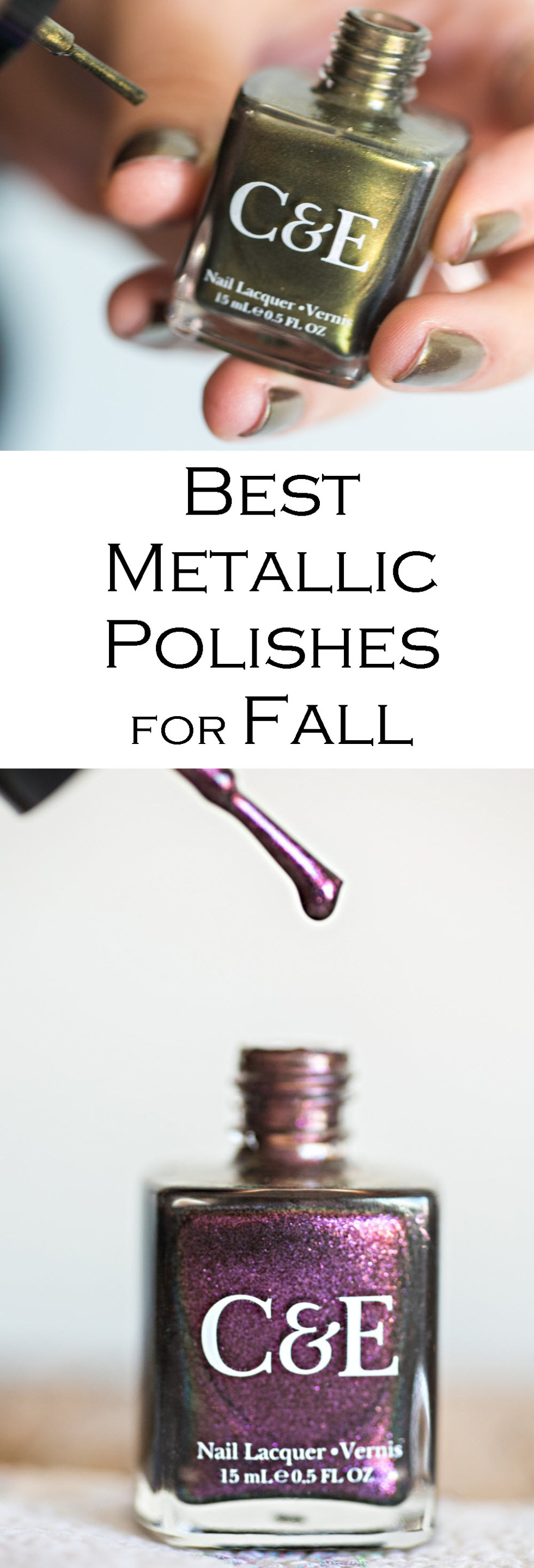Best Metallic Nail Polishes for Fall - Crabtree & Evelyn Nail Polish Review