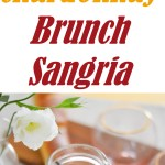 Brunch Sangria | Chardonnay, Orange Juice, and Fresh Fruit for an alternative to Mimosas.