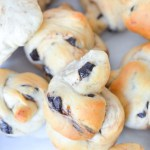 Chocolate Chunk Bread Knots