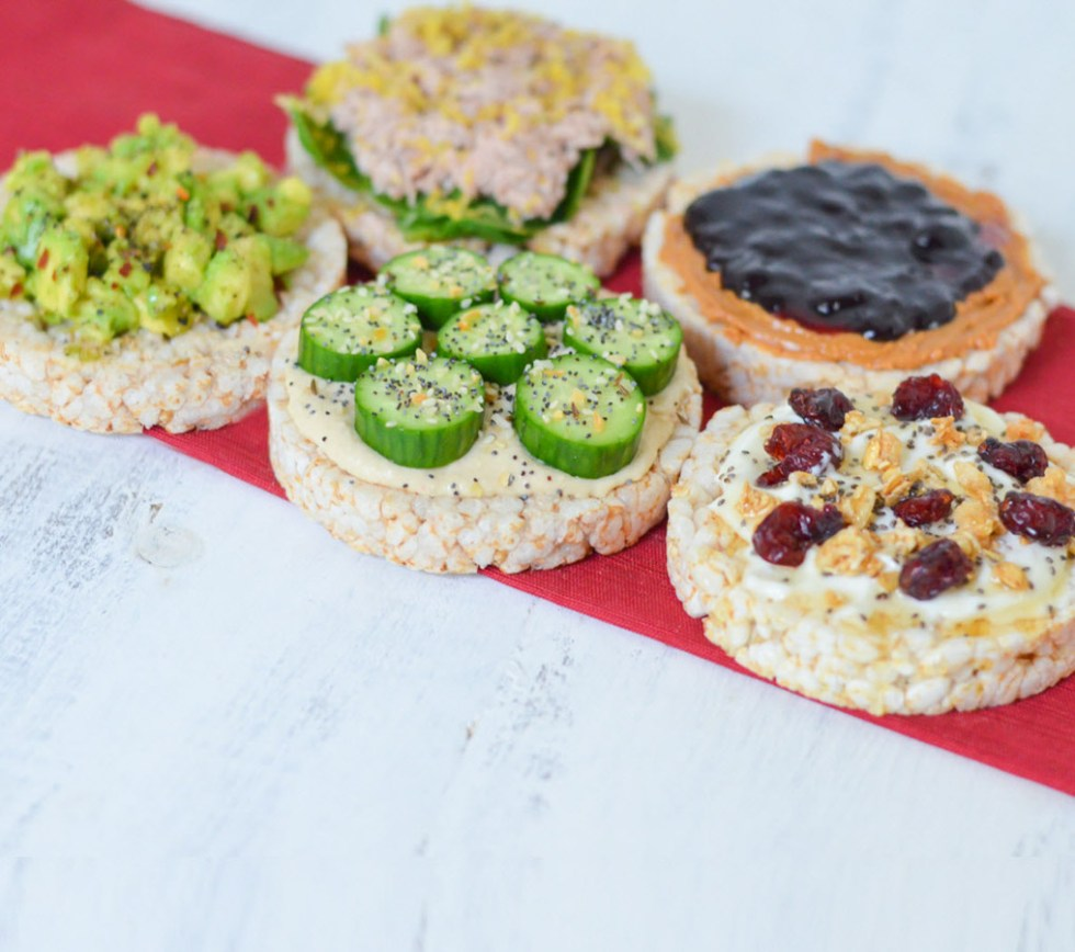 5 Healthy Rice Cake Toppings + Meal Ideas | Luci's Morsels