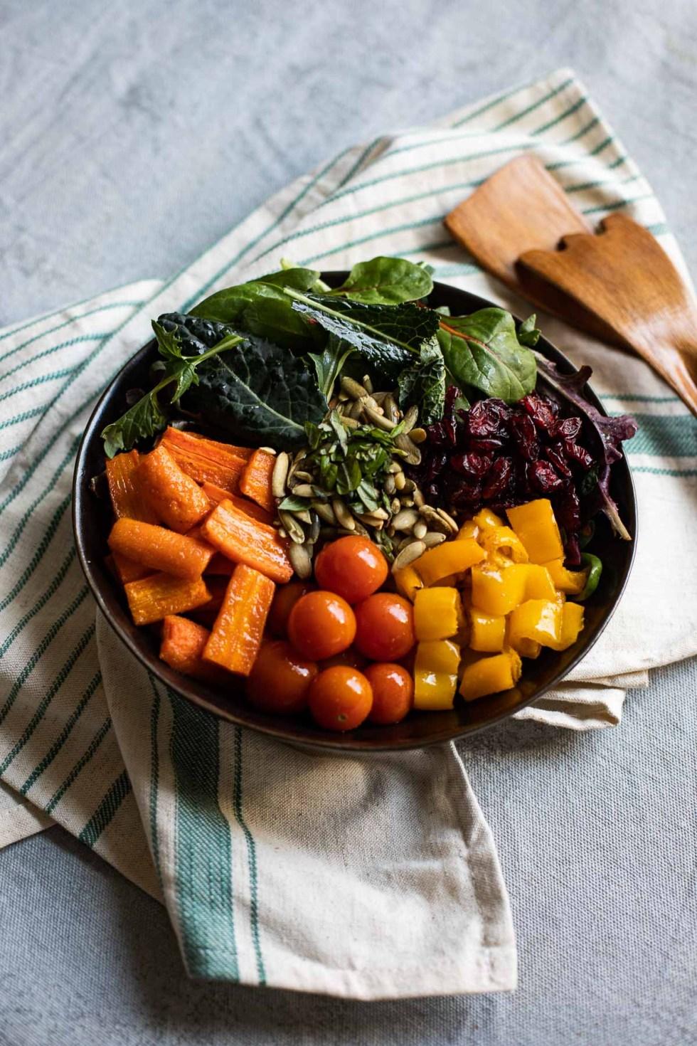 Cumin Roasted Vegetable Salad