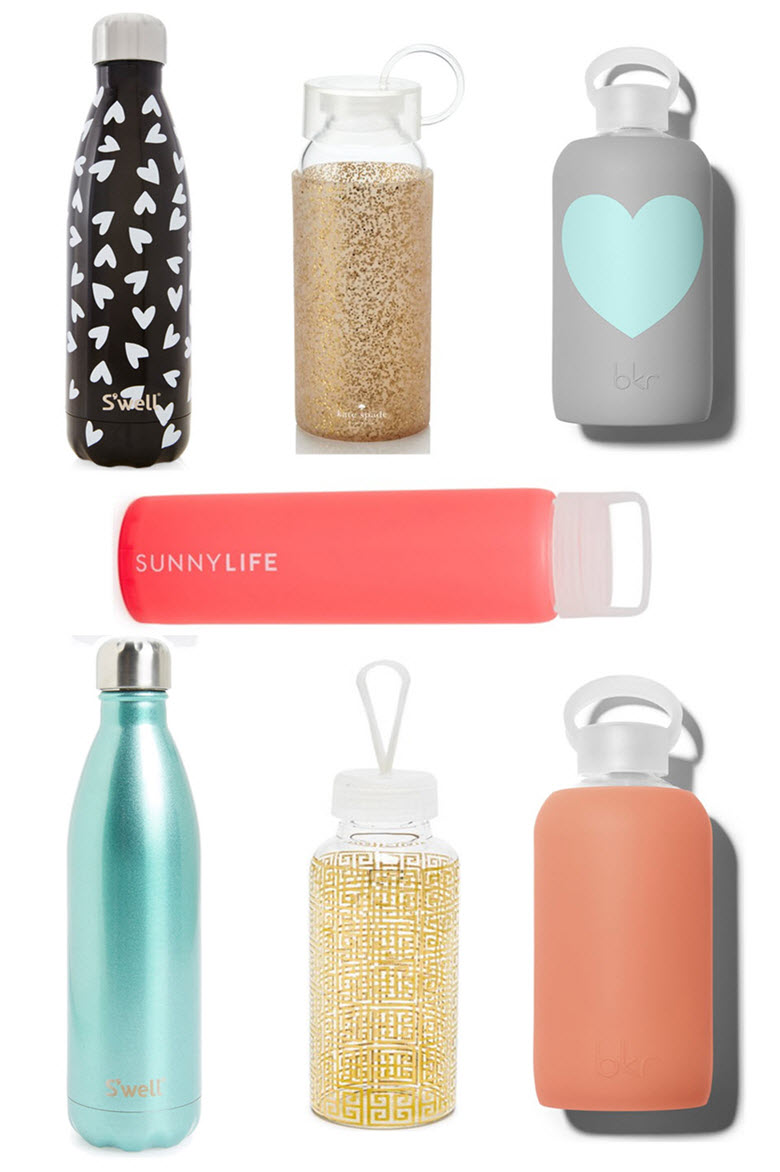 How to Drink More Water | 10 Cute Water Bottles