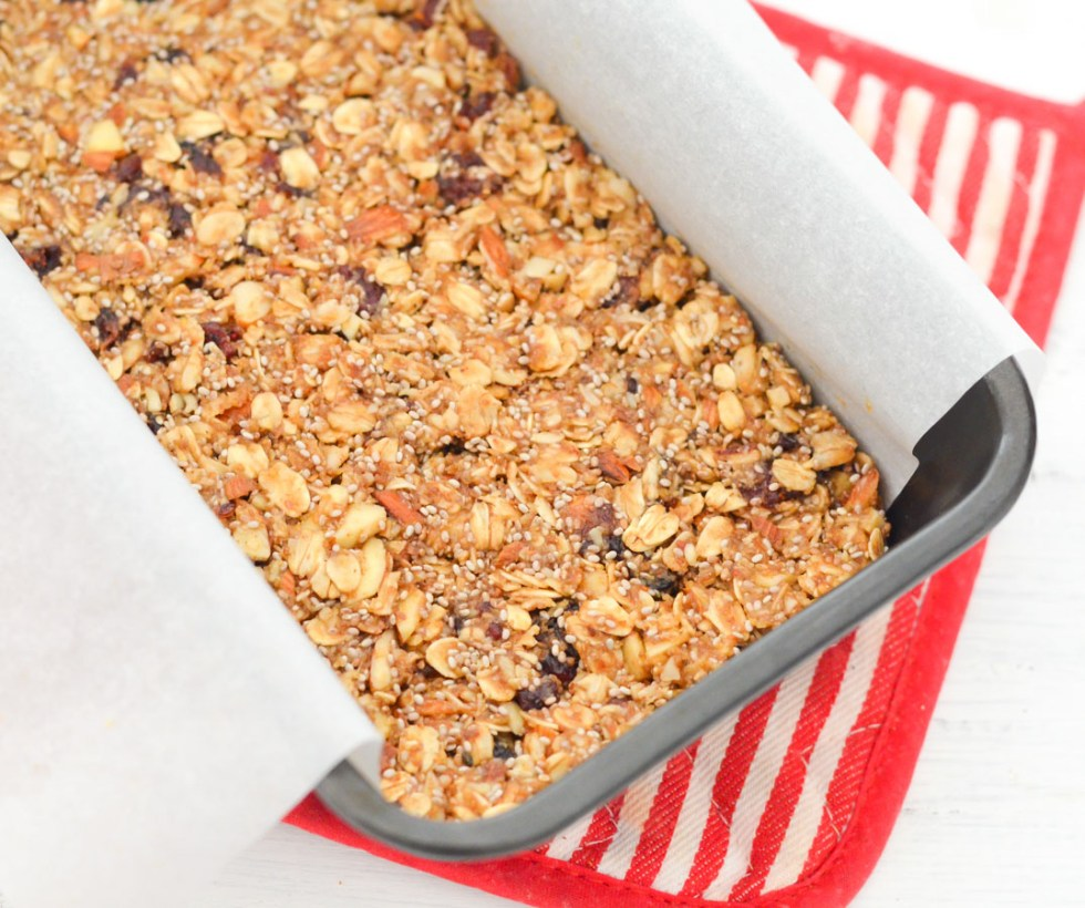 Homemade Granola Bites. Chia Seed + Coconut Granola Bites Recipe w. Peanut Butter + Honey + Ground Flax Seeds - LA Healthy Food Blogger