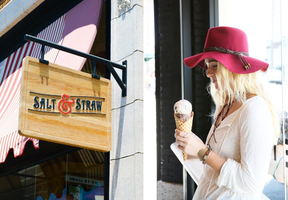 Delicious Dessert Spots in LA | Salt & Straw :: Studio City, Venice Beach, + Larchmont | Luci's Morsels :: LA Travel Blogger