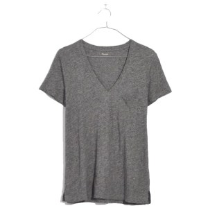 Perfect Madewell Tee w. Pocket