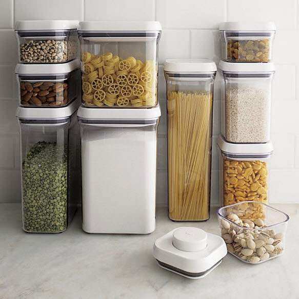 Kitchen Storage Bottles: OXO Pop Containers