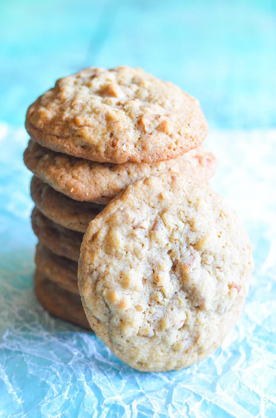 Easy Butter Pecan Cookies