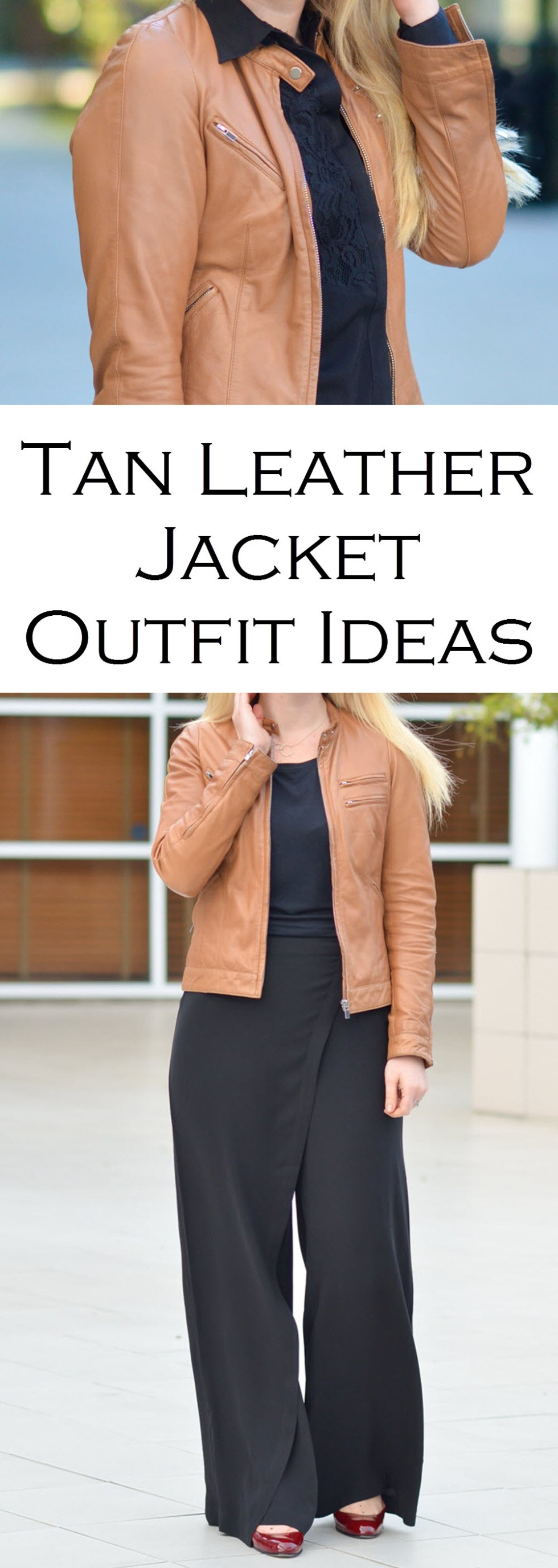How to Wear Tan Leather Jacket Outfit Ideas. From casual denim to pantsuits, brown leather jackets are the perfect piece of outerwear.