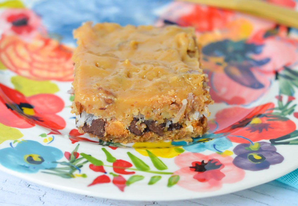 Dulce de Leche Recipe | Dulce de Leche 7 Layer Bars - Magic Cookie Bars