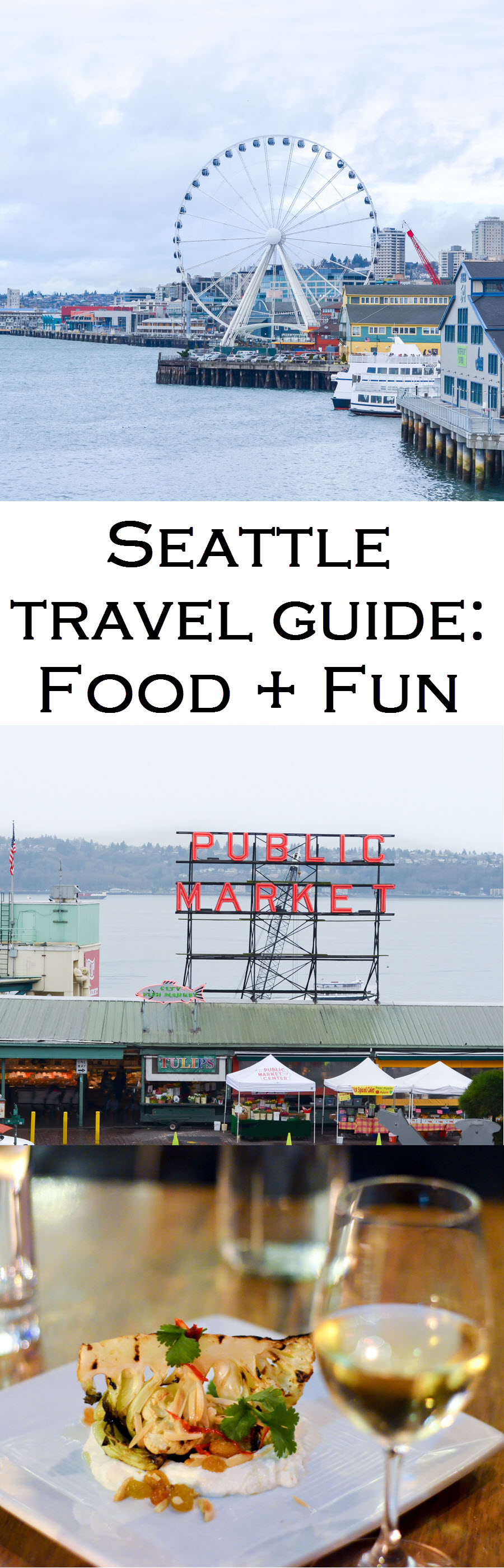 What to Do in Seattle for Three Days. What to Do. Where to Eat. What to See!