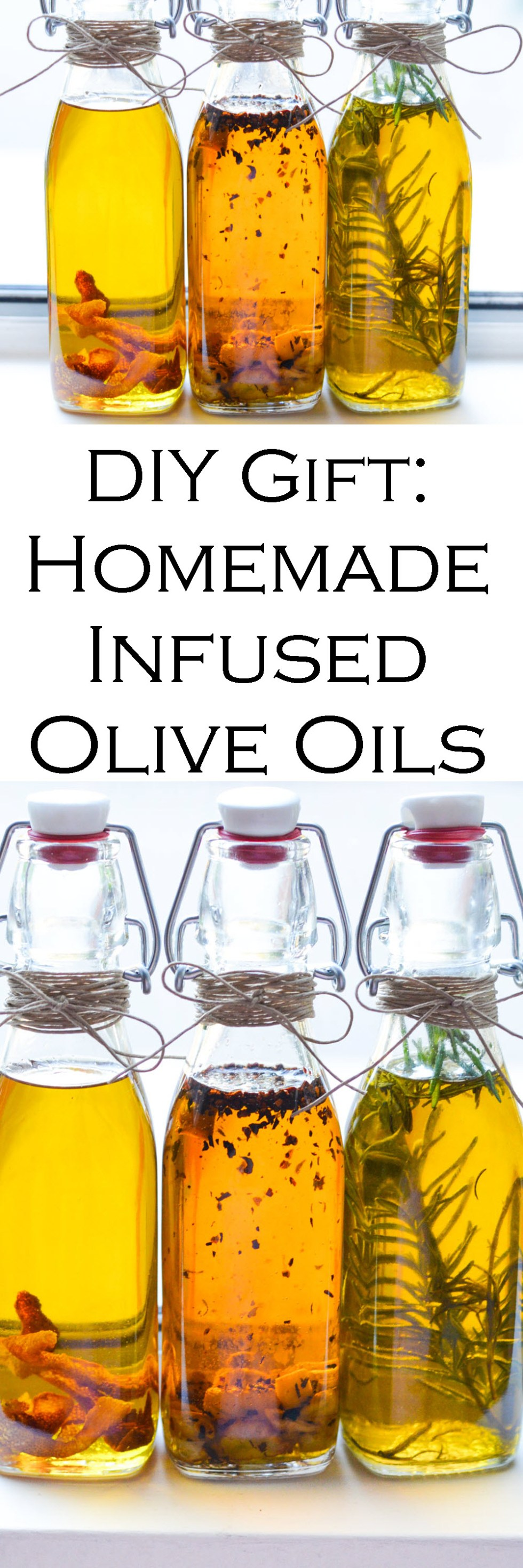 how to make infused olive oil for gifts