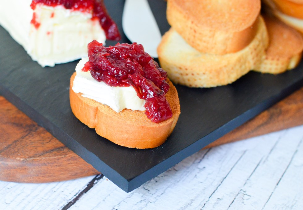 Homemade Honey Plum Jam Recipe w. Brie and Crostinis | Easy Summer Appetizer