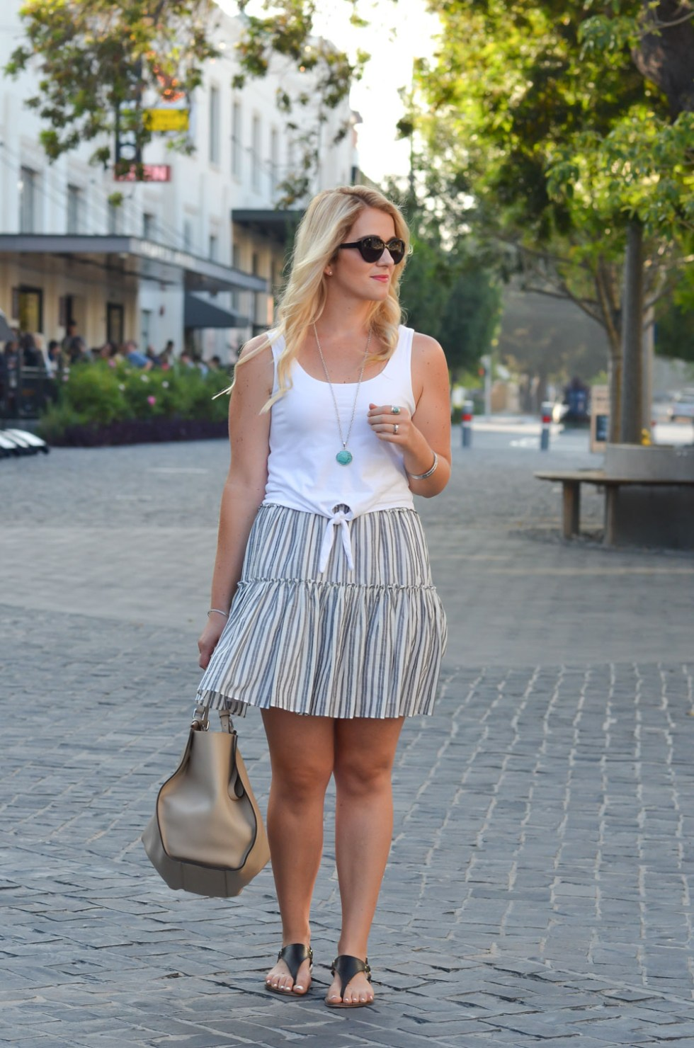 Cool Summer Outfit W Flouncy Skirt Luci S Morsels