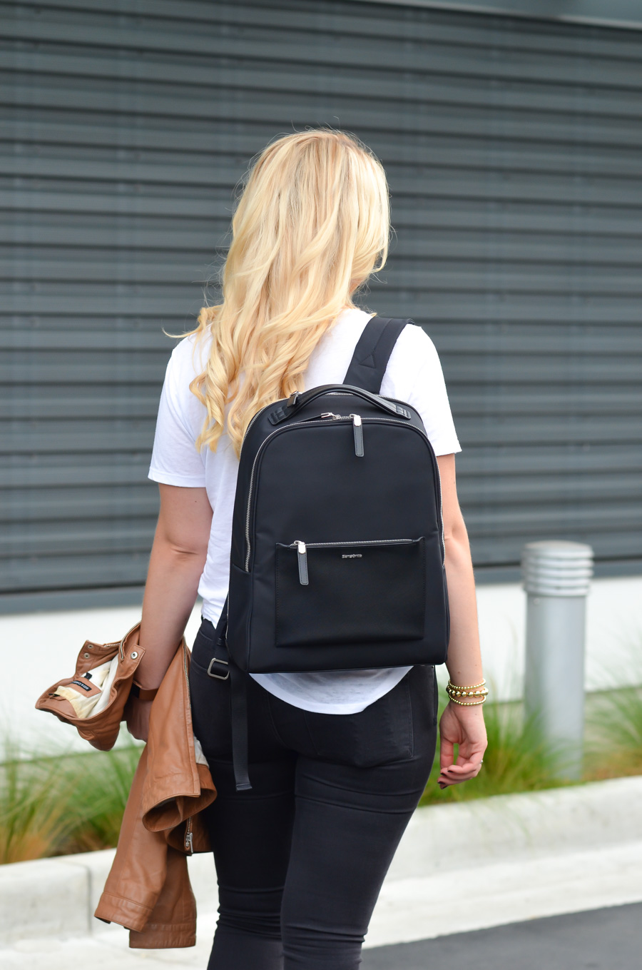 Best Travel Bags for Stylish Women. Chic Work Laptop Backpack - Samsonite Zalia Backpack Review