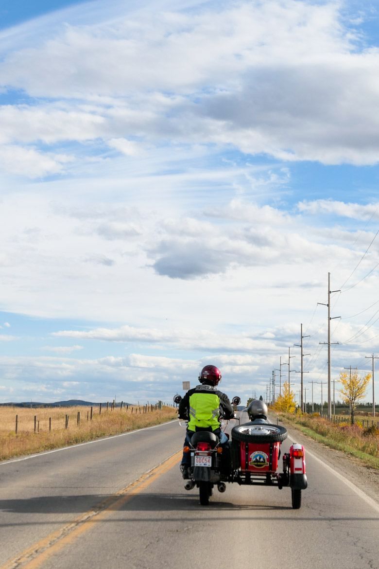 Sidecar Tour of Calgary Foothills