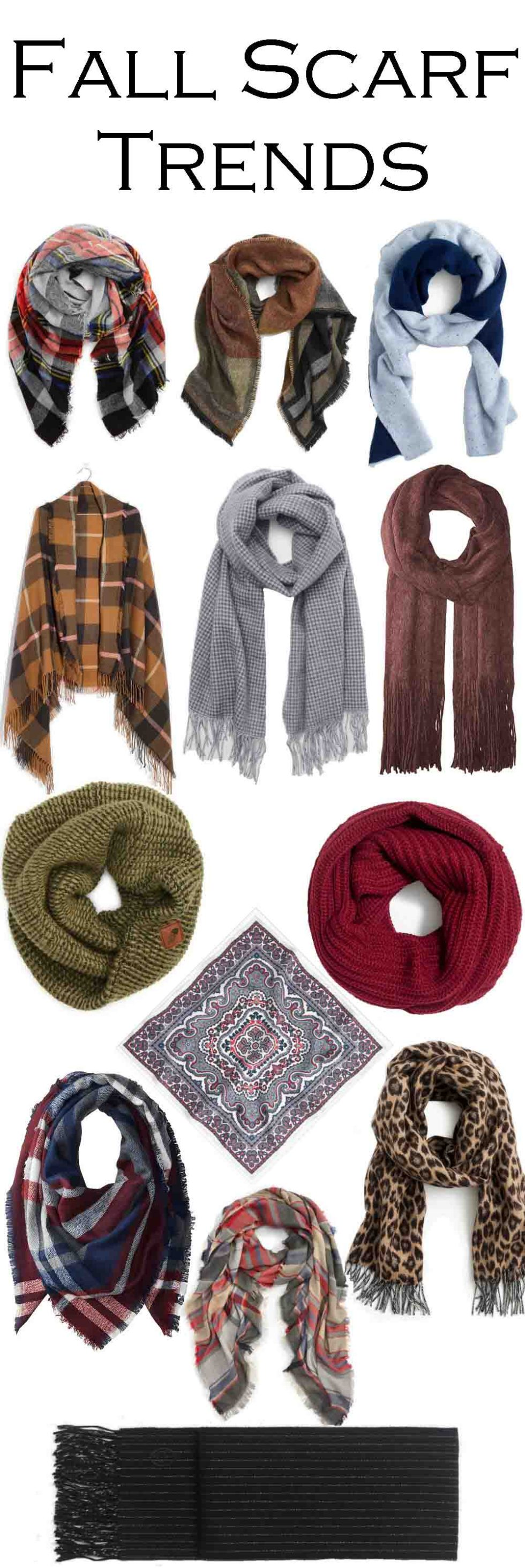 Fall Scarves 2017 Scarf Trends #fallfashion #winterfashion #winterstyle #fashionblog #fashionstyle #fashionblogger #layers #womensfashion