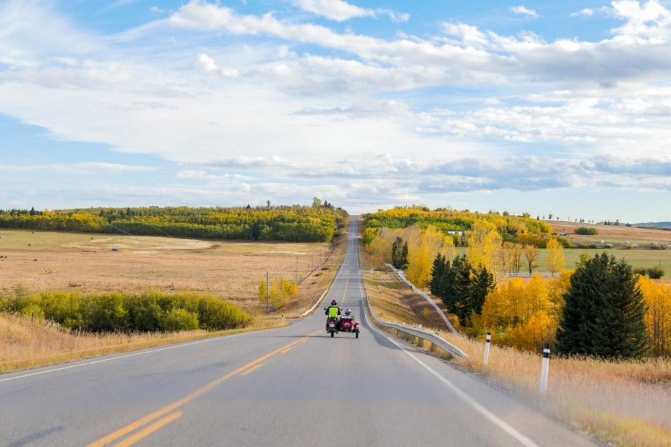 Rocky Mountain Sidecar Adventures Tour - Calgary, Alberta