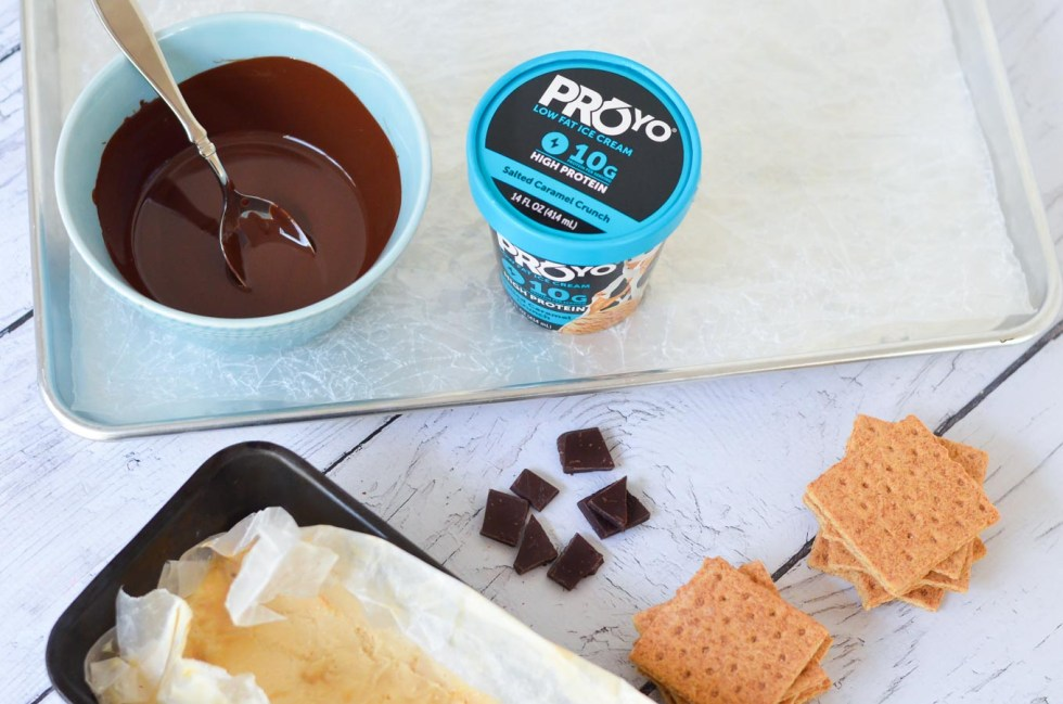 Salted Caramel Ice Cream Sandwiches w. ProYo Protein Ice Cream