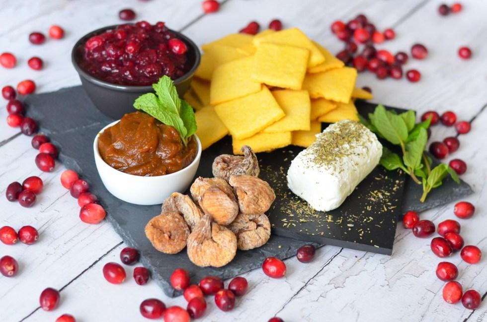 Cornbread Crackers + Pumpkin Butter Recipe - Thanksgiving Appetizer Board