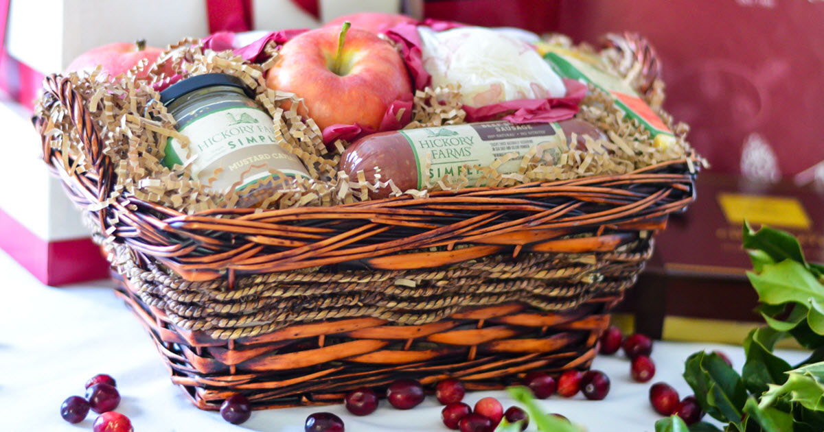 Hickory Farms Gift Baskets | Luci's Morsels
