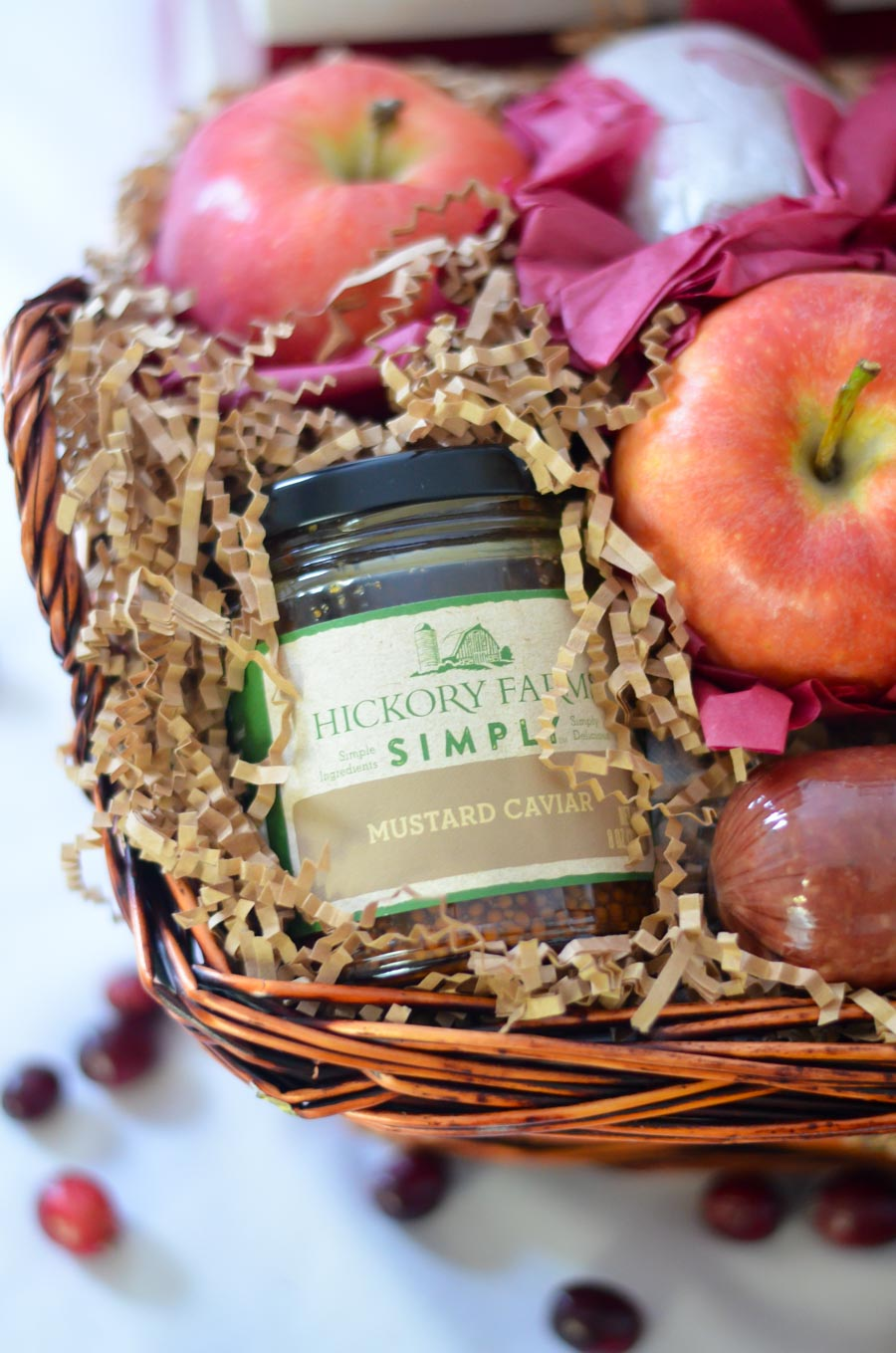 Family Gifting w. Hickory Farms Gift Baskets | Luci\'s Morsels