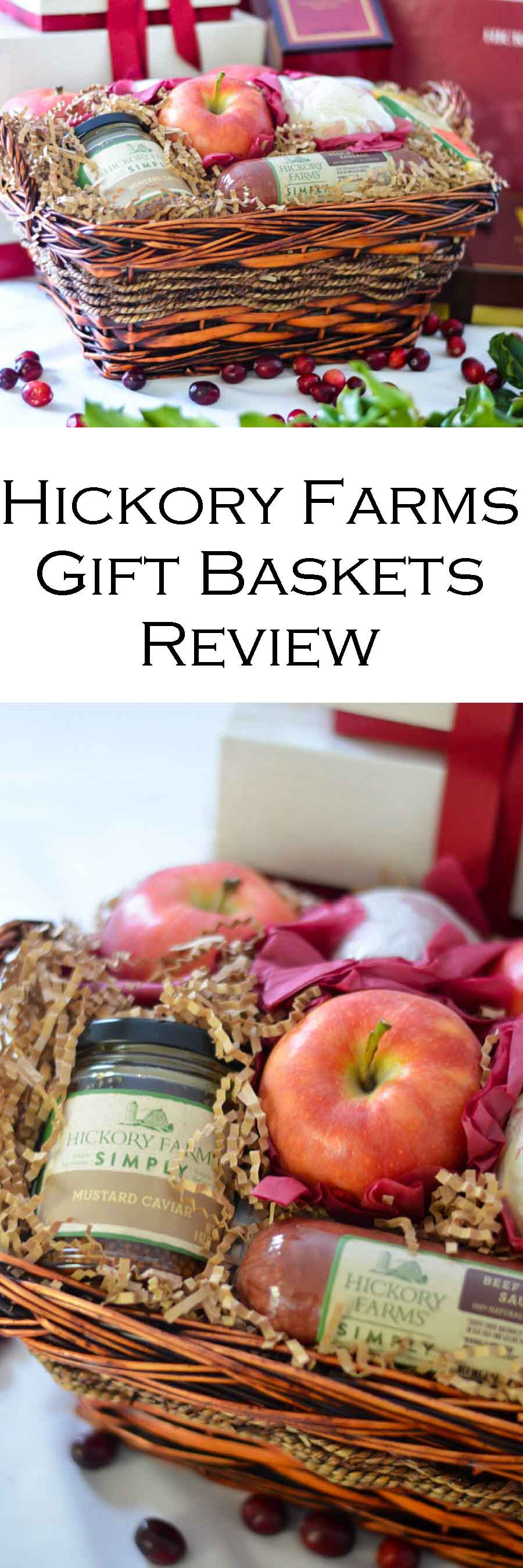 Hickory Farms Gift Baskets Review #christmas #holidays #holidayseason #christmasgifts #giftguide #hickoryfarms #lifestyleblog #lifestyle #merrychristmas #happyholidays #giftgiving #giftideas #familygifts #foodgifts