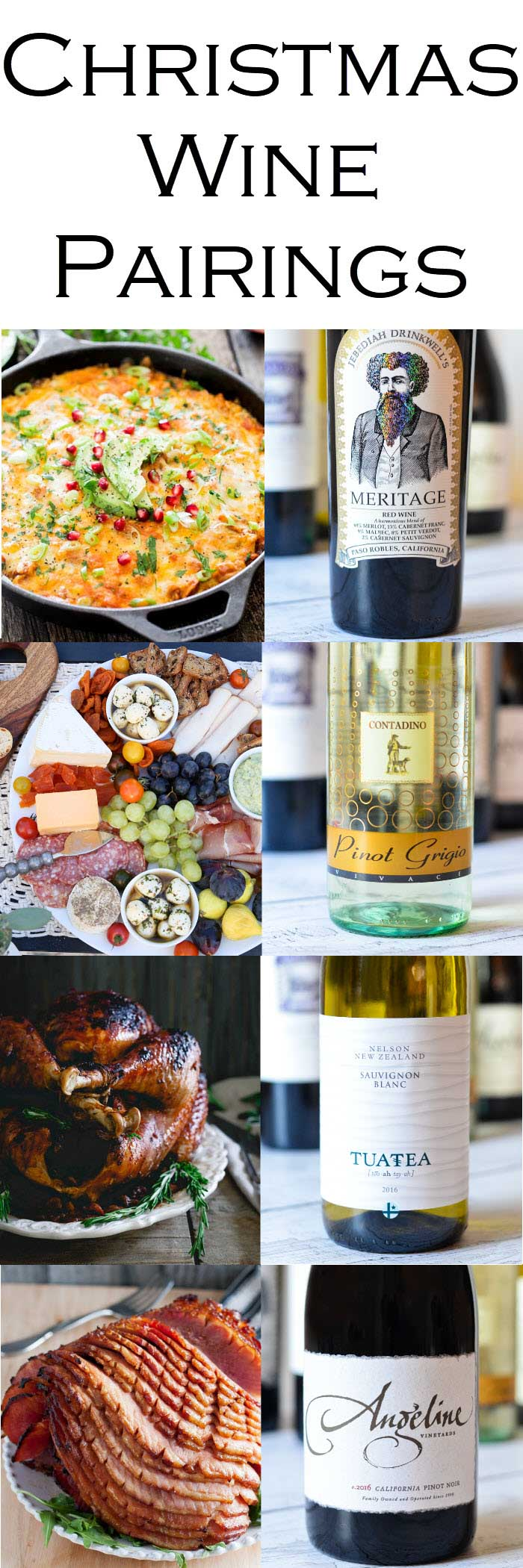 Holiday Christmas Wine Pairings for Every Meal #LMrecipes #Christmas #Christmasparty #Christmasdinner #Christmasbrunch #NewYearsbrunch #Hanukkah #Hanukkahdinner #holidayparty #wine #winepairings #foodblog #foodblogger