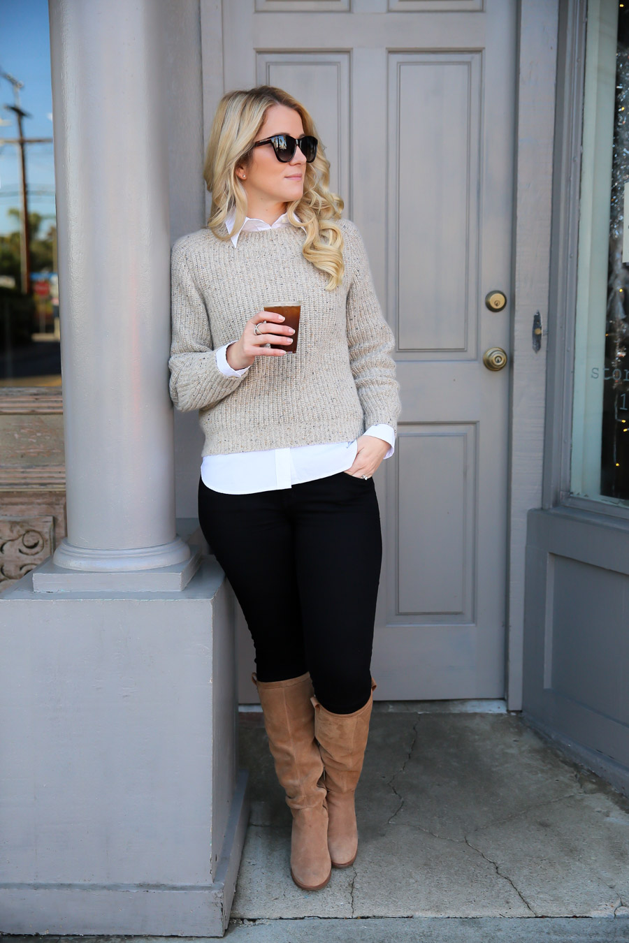 How to Layer Cashmere + Wool Sweaters  21607b834