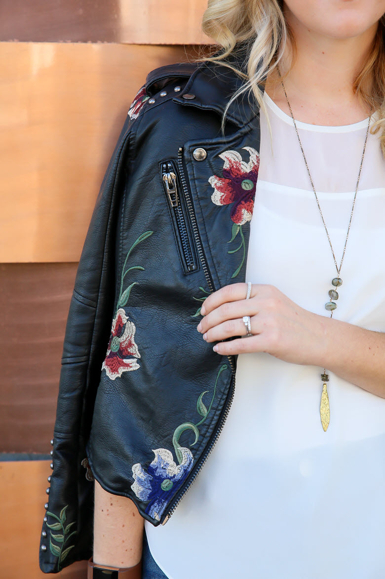 Last Minute Date Nights | Leather Jacket Outfits