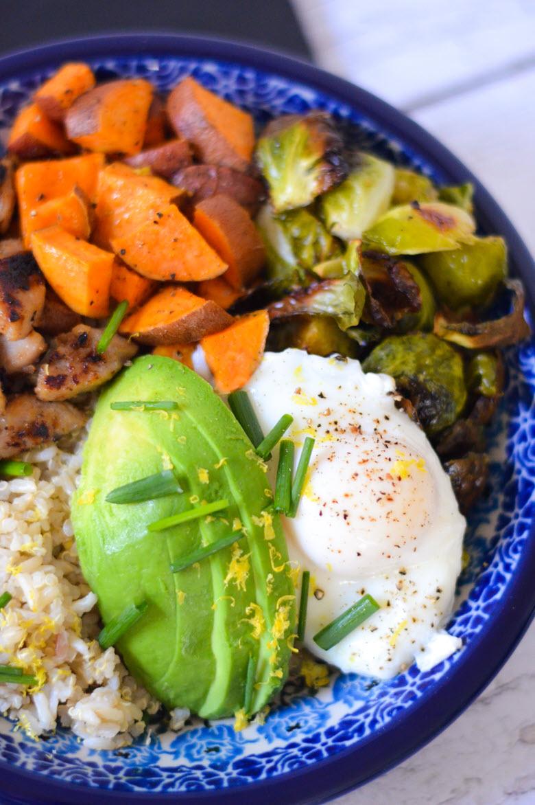Chicken Sausage Breakfast Bowl {for dinner}