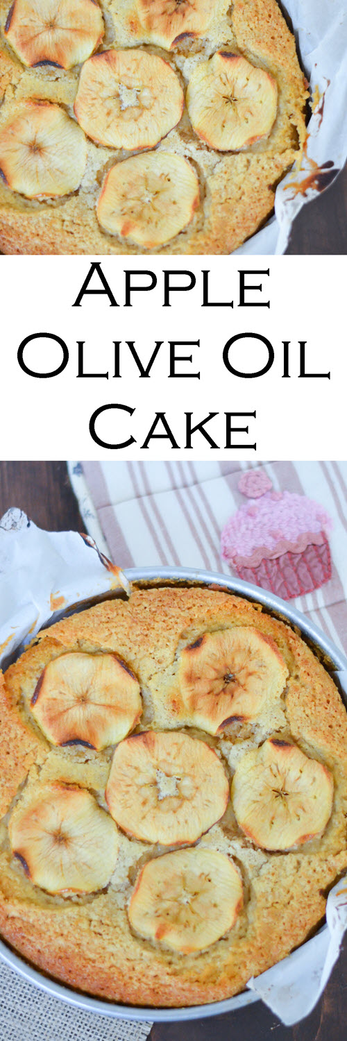 Apple Olive Oil Cake - Anthropologie Cookbook Sunday Suppers Review. The Best Olive Oil Cake Recipe. This apple cake is moist and easy - a fun fall dessert that everyone will love. Apple slices make this cake look perfect for any dinner table.