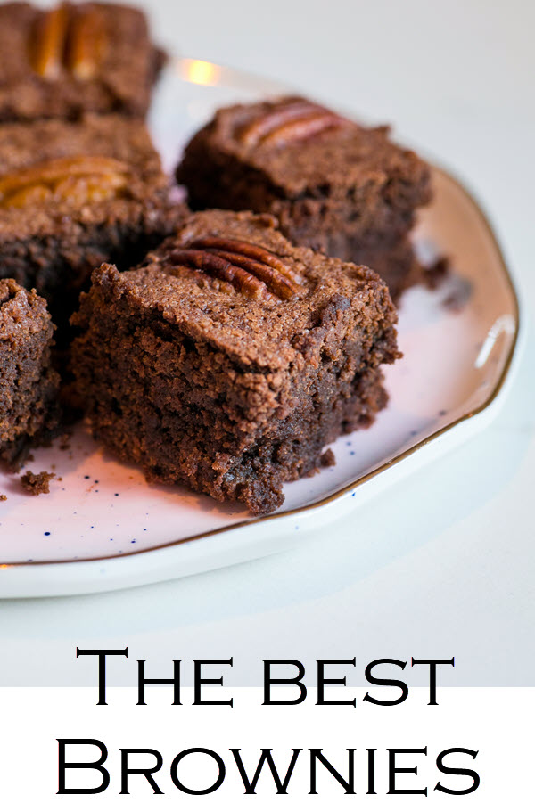 "This brownie recipe with cocoa powder makes the best brownies. An easy brownie recipe that's sure to win over anyone, these ""Disgustingly Rich Brownies"" are slightly rich, slightly dense, and perfectly perfect!"