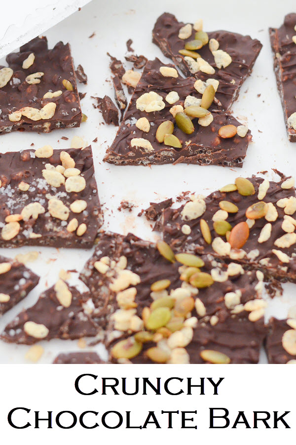 Homemade Crunch Bars. This homemade candy is a no-bake recipe that is last-minute and quick. A easy dessert recipe for kids and adults. A simple chocolate bark recipe.