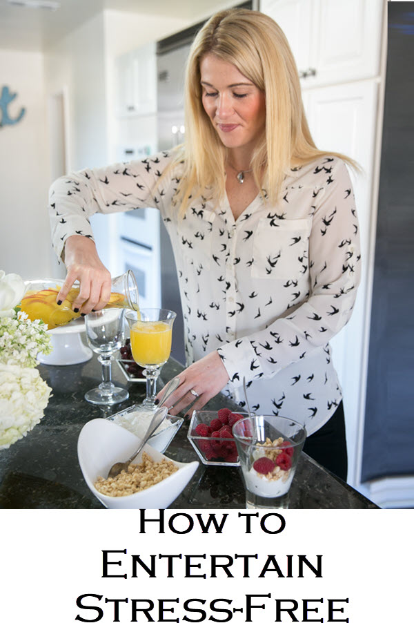 How to Entertain Stress-Free. These step-by-step tips for hosting include make-ahead recipes for dinner parties that everyone will love. Easy dinner parties and entertaining have never been more fun!