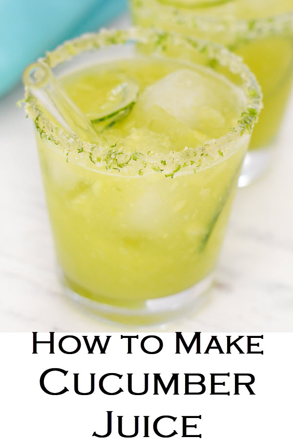 How to Make Cucumber Juice. This delicious and refreshing mocktail/summer lemonade recipe is delicious and full of nutrients from fresh cucumber juice!