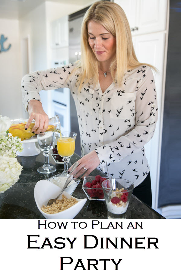 How to Plan an Easy Dinner Party. These step-by-step tips for hosting include make-ahead recipes for dinner parties that everyone will love. Easy dinner parties and entertaining have never been more fun!