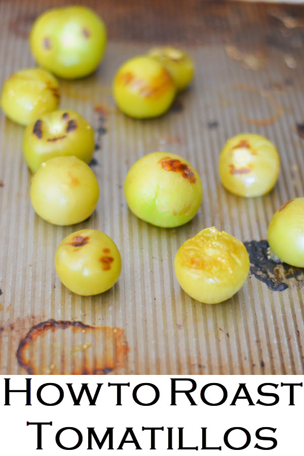 Wondering how to roast tomatillos? This step-by-step picture guide to tomatillos are has a tomatillo guacamole/tomatillo salsa recipe that everyone will love.