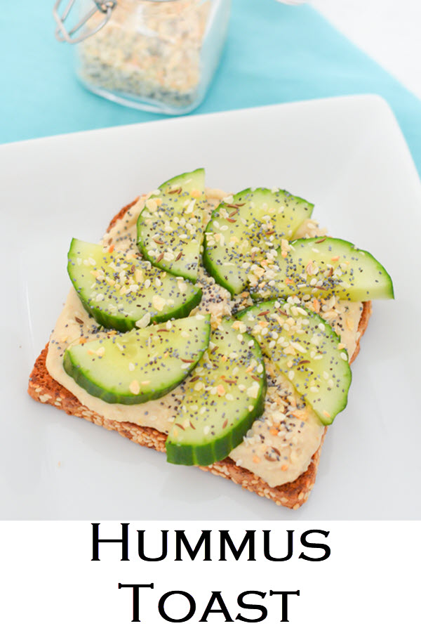 4 Ways to Eat Hummus Toast - Vegan, Healthy Bread Toast Ideas Recipes - Luci's Morsels -- LA Healthy Food Blogger. A light lunch or healthy snack recipe, these hummus toast recipes are easy and delicious. Vegan and vegetarian snack ideas.