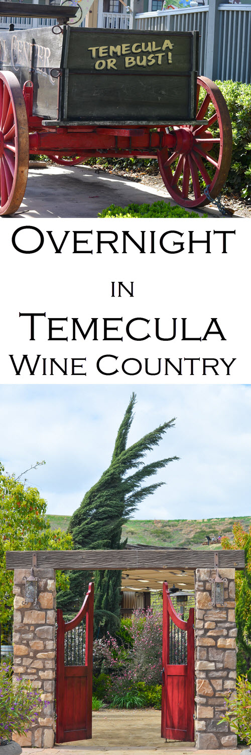 One Day One Night in Temecula, CA Wine Country - Best Winery. Wondering what to do for one night in Temecula - Southern California's wine country? Here's the scoop on where to eat and where to stay in Temecula as well as the best winery for wine tasting without the crowds - off the beaten path.
