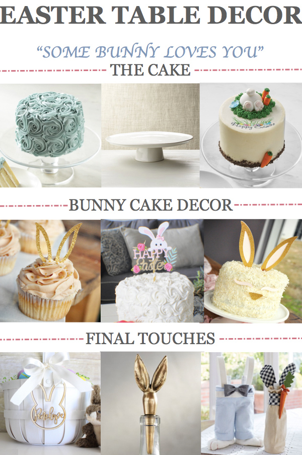 Easter Table Decor Ideas. Get your Easter Table perfect for brunch or dinner with these Easter place settings, Easter tablescape ideas, and Easter Desserts! #easter