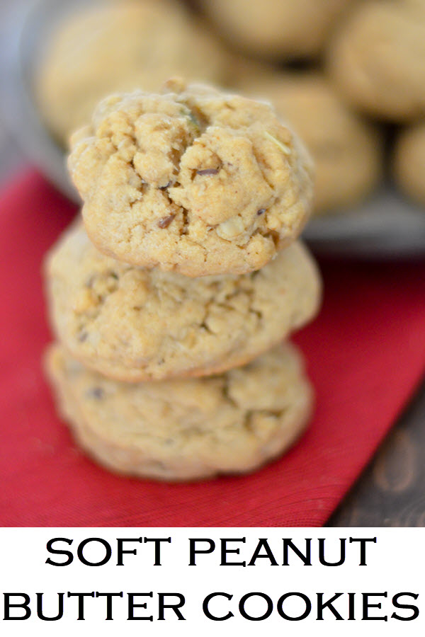 Chewy Peanut Butter Cookies Recipe. THese granola cookies are a delicious dessert recipe that everyone will love. For a cookie exchange or lunchbox <a href=