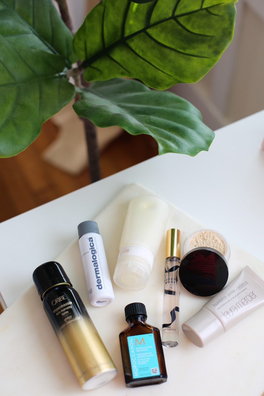 These travel tips for the best travel sized toiletries and travel size makeup will help you save room. See where to get the best travel makeup, travel size bottles, and the perfect little ways to downsize on your international travel. #travel