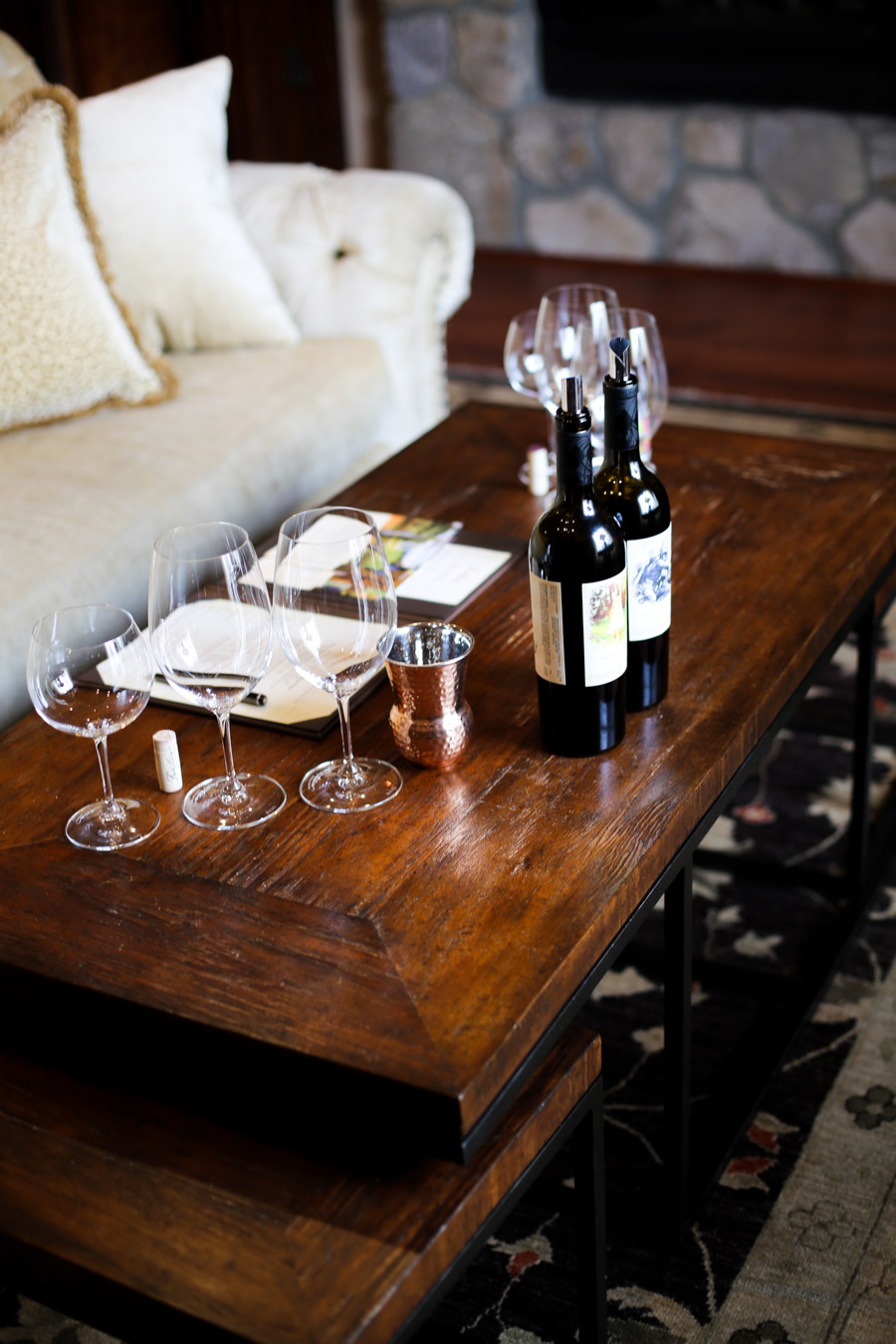 St. Helena Wineries - A Complete Itinerary - Fantesca Winery Photos